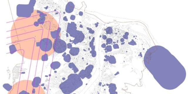 Карта санитарно-защитный зон Нижнего Новгорода